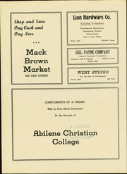 Abilene Christian College - Prickly Pear Yearbook (Abilene, TX) online yearbook collection, 1944 Edition, Page 160