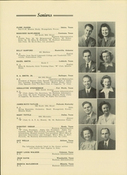 Abilene Christian College - Prickly Pear Yearbook (Abilene, TX) online yearbook collection, 1944 Edition, Page 38
