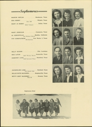 Abilene Christian College - Prickly Pear Yearbook (Abilene, TX) online yearbook collection, 1944 Edition, Page 50