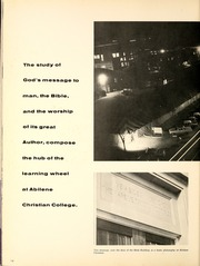 Abilene Christian College - Prickly Pear Yearbook (Abilene, TX) online yearbook collection, 1961 Edition, Page 18