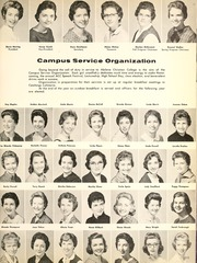 Abilene Christian College - Prickly Pear Yearbook (Abilene, TX) online yearbook collection, 1961 Edition, Page 319