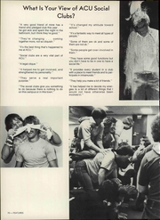 Abilene Christian College - Prickly Pear Yearbook (Abilene, TX) online yearbook collection, 1976 Edition, Page 76