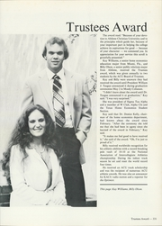 Abilene Christian College - Prickly Pear Yearbook (Abilene, TX) online yearbook collection, 1982 Edition, Page 335