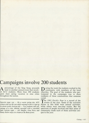 Abilene Christian College - Prickly Pear Yearbook (Abilene, TX) online yearbook collection, 1982 Edition, Page 419