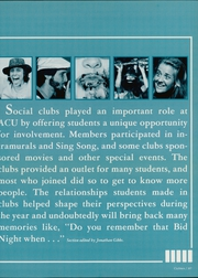 Abilene Christian College - Prickly Pear Yearbook (Abilene, TX) online yearbook collection, 1983 Edition, Page 271