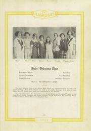 Abilene High School - Flashlight Yearbook (Abilene, TX) online yearbook collection, 1922 Edition, Page 63