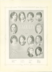 Abilene High School - Flashlight Yearbook (Abilene, TX) online yearbook collection, 1924 Edition, Page 17