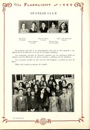 Abilene High School - Flashlight Yearbook (Abilene, TX) online yearbook collection, 1929 Edition, Page 104