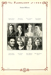 Abilene High School - Flashlight Yearbook (Abilene, TX) online yearbook collection, 1929 Edition, Page 22