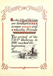 Abilene High School - Flashlight Yearbook (Abilene, TX) online yearbook collection, 1929 Edition, Page 7