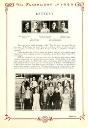 Abilene High School - Flashlight Yearbook (Abilene, TX) online yearbook collection, 1929 Edition, Page 81
