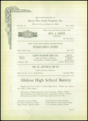 Abilene High School - Flashlight Yearbook (Abilene, TX) online yearbook collection, 1931 Edition, Page 174
