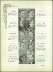 Abilene High School - Flashlight Yearbook (Abilene, TX) online yearbook collection, 1931 Edition, Page 34