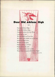 Abilene High School - Flashlight Yearbook (Abilene, TX) online yearbook collection, 1934 Edition, Page 14