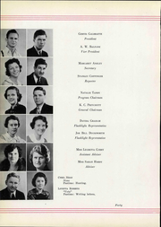 Abilene High School - Flashlight Yearbook (Abilene, TX) online yearbook collection, 1934 Edition, Page 48