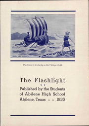 Abilene High School - Flashlight Yearbook (Abilene, TX) online yearbook collection, 1935 Edition, Page 11