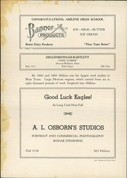 Abilene High School - Flashlight Yearbook (Abilene, TX) online yearbook collection, 1936 Edition, Page 150