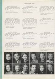 Abilene High School - Flashlight Yearbook (Abilene, TX) online yearbook collection, 1940 Edition, Page 120