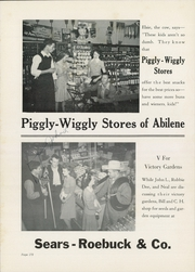Abilene High School - Flashlight Yearbook (Abilene, TX) online yearbook collection, 1943 Edition, Page 184