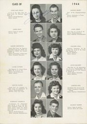 Abilene High School - Flashlight Yearbook (Abilene, TX) online yearbook collection, 1944 Edition, Page 38