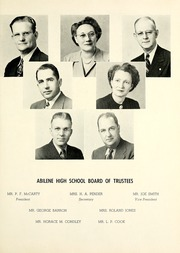 Abilene High School - Flashlight Yearbook (Abilene, TX) online yearbook collection, 1945 Edition, Page 19