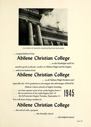 Abilene High School - Flashlight Yearbook (Abilene, TX) online yearbook collection, 1945 Edition, Page 205