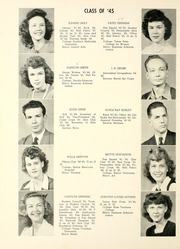 Abilene High School - Flashlight Yearbook (Abilene, TX) online yearbook collection, 1945 Edition, Page 40