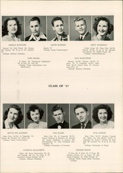 Abilene High School - Flashlight Yearbook (Abilene, TX) online yearbook collection, 1947 Edition, Page 49
