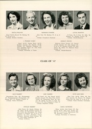 Abilene High School - Flashlight Yearbook (Abilene, TX) online yearbook collection, 1947 Edition, Page 54