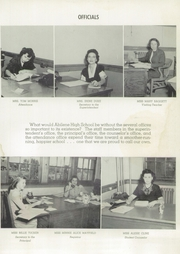 Abilene High School - Flashlight Yearbook (Abilene, TX) online yearbook collection, 1949 Edition, Page 25