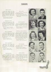 Abilene High School - Flashlight Yearbook (Abilene, TX) online yearbook collection, 1949 Edition, Page 37
