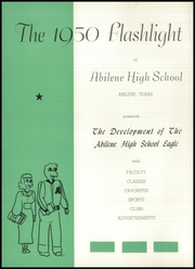 Abilene High School - Flashlight Yearbook (Abilene, TX) online yearbook collection, 1950 Edition, Page 6
