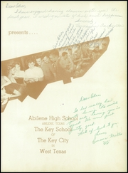Abilene High School - Flashlight Yearbook (Abilene, TX) online yearbook collection, 1951 Edition, Page 7