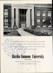 Abilene High School - Flashlight Yearbook (Abilene, TX) online yearbook collection, 1952 Edition, Page 214