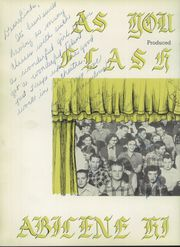 Abilene High School - Flashlight Yearbook (Abilene, TX) online yearbook collection, 1953 Edition, Page 6