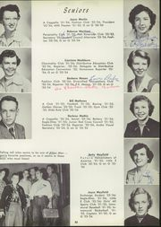 Abilene High School - Flashlight Yearbook (Abilene, TX) online yearbook collection, 1954 Edition, Page 57