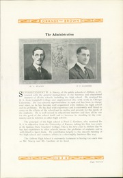Page 17, 1924 Edition, Abilene High School - Orange and Brown Yearbook (Abilene, KS) online yearbook collection