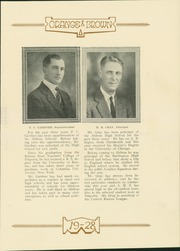 Page 15, 1928 Edition, Abilene High School - Orange and Brown Yearbook (Abilene, KS) online yearbook collection