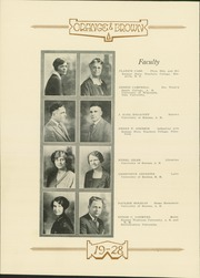 Page 16, 1928 Edition, Abilene High School - Orange and Brown Yearbook (Abilene, KS) online yearbook collection
