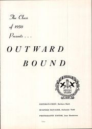 Page 7, 1950 Edition, Abington Friends School - Outward Bound Yearbook (Jenkintown, PA) online yearbook collection