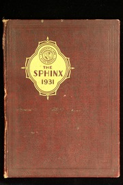 Abraham Clark High School - Sphinx Yearbook (Roselle, NJ) online yearbook collection, 1931 Edition, Cover