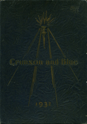 Abraham Lincoln High School - Crimson and Blue Yearbook (Council Bluffs, IA) online yearbook collection, 1932 Edition, Cover