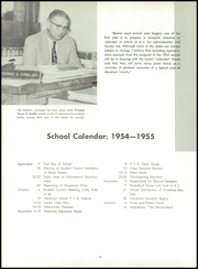 Page 10, 1955 Edition, Abraham Lincoln High School - Crimson and Blue Yearbook (Council Bluffs, IA) online yearbook collection