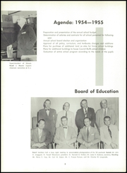 Page 12, 1955 Edition, Abraham Lincoln High School - Crimson and Blue Yearbook (Council Bluffs, IA) online yearbook collection