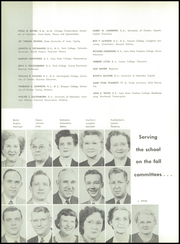 Page 14, 1955 Edition, Abraham Lincoln High School - Crimson and Blue Yearbook (Council Bluffs, IA) online yearbook collection