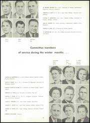 Page 15, 1955 Edition, Abraham Lincoln High School - Crimson and Blue Yearbook (Council Bluffs, IA) online yearbook collection