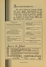 Abraham Lincoln High School - Lincolnian Yearbook (Los Angeles, CA) online yearbook collection, 1935 Edition, Page 137