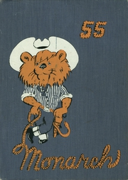 Abraham Lincoln High School - Monarch Yearbook (San Jose, CA) online yearbook collection, 1955 Edition, Cover