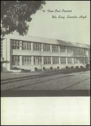 Page 6, 1955 Edition, Abraham Lincoln High School - Monarch Yearbook (San Jose, CA) online yearbook collection