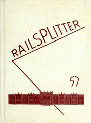 Abraham Lincoln High School - Railsplitter Yearbook (Des Moines, IA) online yearbook collection, 1957 Edition, Cover